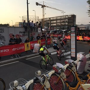 Photo of the Red Hook Crit race in Milano