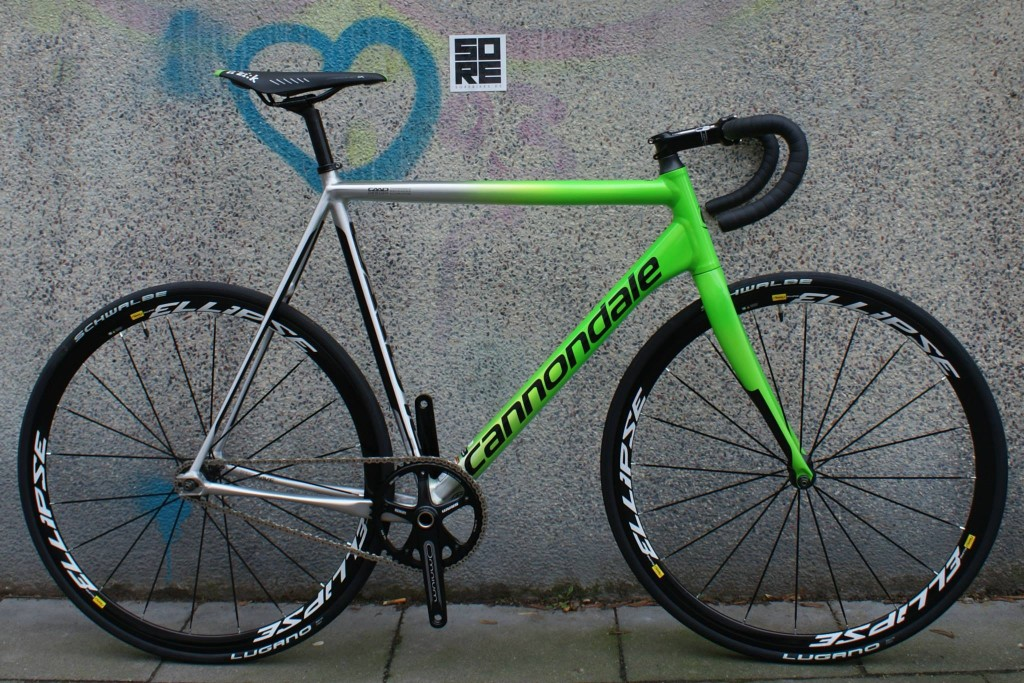 Cannondale - CAAD10 TRACK - 2015 - GRN - RH 58cm
